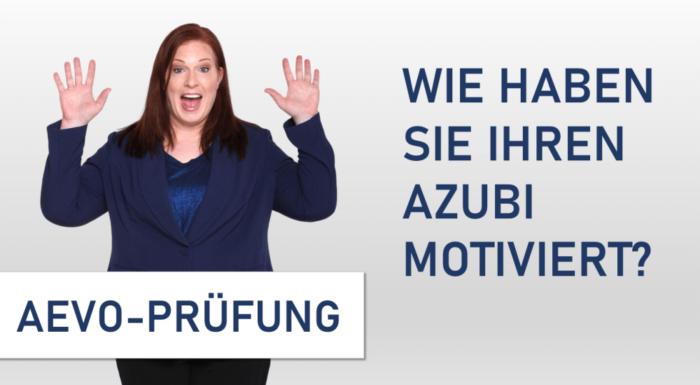 motivieren AEVO Prüfung