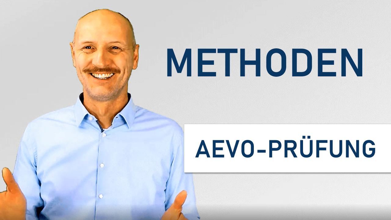 Methode AEVO-Prüfung